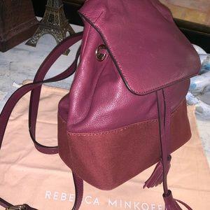 Rebecca  Minkoff soft leather backpack 🌸